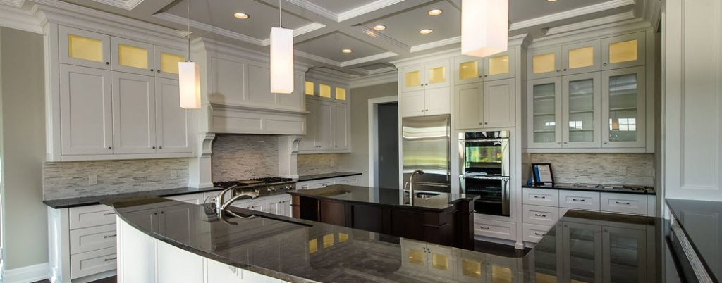 Custom Cabinets in a Kitchen